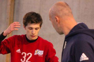 Thierry omeyer en face à face avec un stagiaire