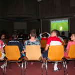 Photo d'une activité annexe prévu lors des stages omeyer entre passionnés de handball