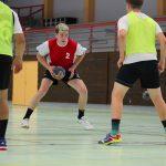 Stagiaires en pleine entrainement durant les stages handball été